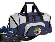 World Soccer Ball Small Duffle Gym Duffel Overnight Bag