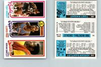 1980 Topps Basketball 240 Dantley & 14 Free & 168 Knight See Scans