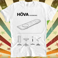 Hoverboard Back to the Future Movie Marty Mcfly Skateboard T Shirt 3149