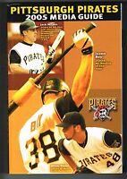 2005 Pittsburgh Pirates Baseball MLB Media GUIDE
