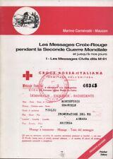 Philatélique La littérature-les messages Croix-Rouge par marino Carnevale-Mauzan