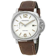 Panerai Luminor Due Automatic Silver Dial Men's Watch PAM01046