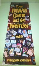 Illuminati INWO Subgenius Steve Jackson Games Store Display Promo Card Poster