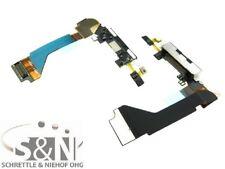 iPhone 4 Ladeconnector Mikrofon Flexkabel Leitung Stecker Docking Anschluss sw