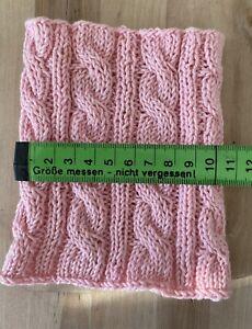 🐶 Hundeloop Schal für Hunde, Farbe Rosa, NEU 🛍 Handarbeit