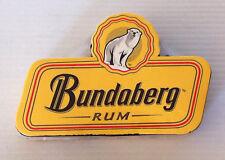 Rare Bundaberg Rum Bundy Rum Compressed Towel Collectable