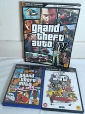Grand Theft Auto IV series guide. Grand Theft Auto III & Vice City on PS2. PAL.