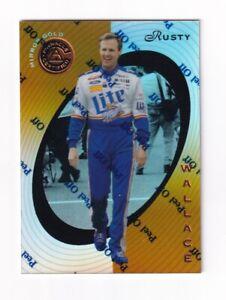 1997 Pinnacle Certified MIRROR GOLD #2 Rusty Wallace SUPER SCARCE!