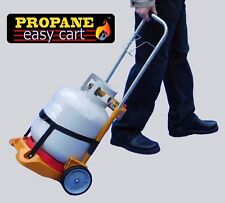 Propane Easy Cart Tank Gauge Gas Level BBQ Grill hand truck (tank not included)