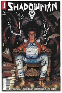 Shadowman #1 (04/2021) Valiant Comics Jon Davis-Hunt Regular Cover