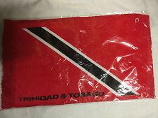 Trinidad & Tobago BANDIERA Faccia Asciugamano flanella Reggae Roots cultura