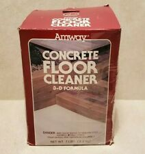 Amway Concrete Floor Cleaner ~ Discontinued Rare