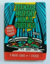 TOPPS CARDS Teenage Mutant Ninja Turtles cards - 1 unopened pack from 1990