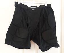 SixSixOne Sub Protective Compression Padded Multi Sport Shorts Black b Large L