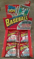 1991 Baseball Cards Topps Retail Wax Packs (x3) Possible Chipper Jones Rookie?