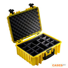 B&W Outdoor Type 5000 Case With Divider Set (Yellow)