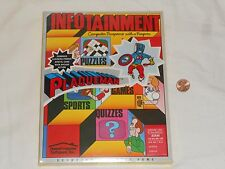 NEW Plaqueman Atari 400 600 800 1200 Disk Game SEALED Infotainment Plaque Man