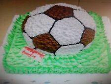 Football Soccer Cake Tin Pan Mold Mould Baking Birthday UK