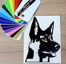 German Shepherd Dog Sticker Vinyl Decal Adhesive Window Bumper Tailgate #3 BLACK