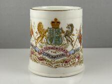 King Edward VII 1902 Coronation Mug Empire Commonwealth