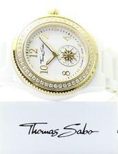 """Thomas Sabo Femme Céramique Montre """"GLAM CHIC"""" QUARTZ NOUVEAU Entièrement neuf dans sa boîte Japon RRP £ 339"""
