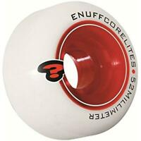 Enuff Corelite White Red Skateboard Wheels - 52mm (Pack of 4)