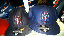 NEW YORK YANKEES  NEW ERA HAT  IN SIZE 7 71/8 71/4 AT £12NAVYOR BLACK