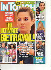 IN TOUCH MARCH 2010 SANDRA BULLOCK BIEL KIRSTIE ALLEY PITT JOLIE COREY HAIM V