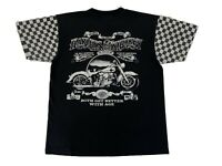 Vintage 90s Harley Davidson Harleys And Whiskey Get Better With Age Rare T Shirt