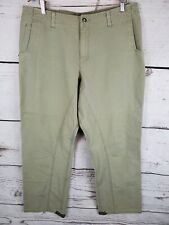 Merrell Pants Mens size 36 Green Outdoor Utility Duck Workwear Casual