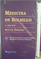 Medicina de Bolsillo by Marc S. Sabatine (2014, Paperback, Revised)