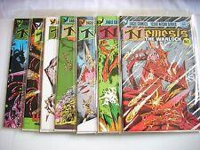 NEMESIS THE WARLOCK #1 2 3 4 5 6 7 Eagle Comics 1984 Mint UR Mylars Hi-Grade