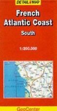 French Atlantic Coast: South by GeoCenter International Ltd (Sheet map, folded,
