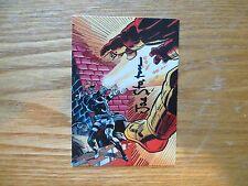 1995 DALE KEOWN'S PITT KYTE'S WRIST CANNONS CARD SIGNED JOE STATON ART, WITH POA