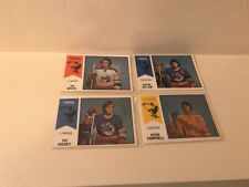 OPC 1974-75 WHA LOT DILLON WISTE HICKEY CAMPBELL CHEEVERS EX/NM