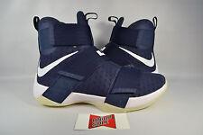 NEW Nike LeBron Soldier X 10 NAVY OBSIDIAN BLUE NIKE ID 885682-991 sz 9