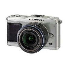 USED Olympus E-P1 12.3MP with 14-42mm Silver Excellent FREE SHIPPING