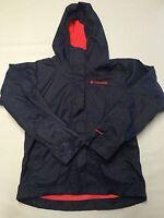 Girls COLUMBIA Jacket Sz S Purple Lined Omni Shield Nylon