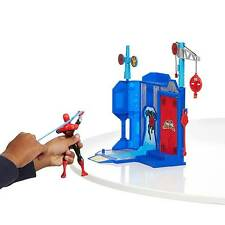 Marvel Ultimate Spiderman Web Warriors Trickshot Showdown Set 5 Targets Hasbro
