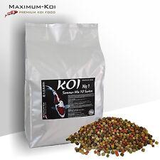 KOIFUTTER 5 kg *Sommer Mix No.1* KOI 10 Sorten Mischung 6mm / Fischfutter