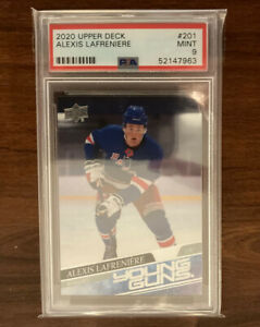 Upper Deck 2020-21 Alexis Lafreniere Young Guns PSA 9 (#201)
