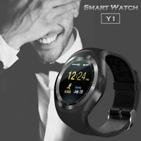 Y1 Bluetooth Smart Watch Touch Screen Support Sim Card Sports Fitness Wristwatch