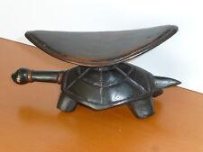 Antique Tortoise Headrest - Dinka Tribe (South Sudan)