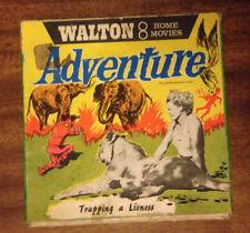 VINTAGE Film Reel-Walton 8 mm HOME MOVIE-cattura una leonessa
