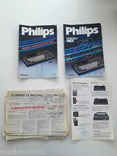 Book user manual msx philips and miscellaneous: journals etc programming