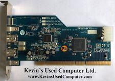 FWB-PCI02 / PWB1GLC-PCI01 / FWB1GMTRJ - PCI01 IEEE1394 FIREWARE PCI CARD
