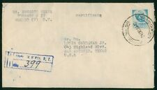 Mayfairstamps Mexico 1940s to San Antonio TX Registered Cover wwp79883