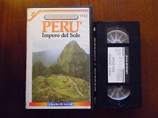 Perù - Impero del sole - VHS ed. Cinehollywood rarissima