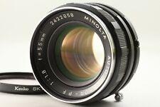 *Exc+++* Minolta Auto Rokkor-PF 55mm F/1.8 SR MC MD Mount Lens From Japan ##42