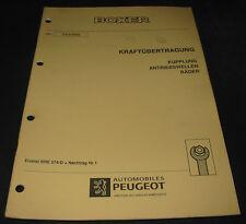 Werkstatthandbuch Peugeot Boxer Typ 230 Kupplung Antriebswellen Räder 04/1995!